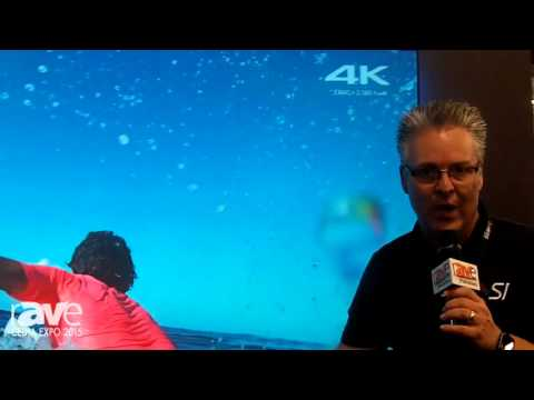 CEDIA 2015: Screen Innovations Demos Short Throw ST Screen with Ambient Light Rejecting Material