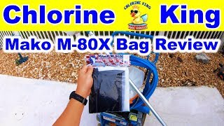 Mako Bags M-80X Extra Fine Bag Review - The Worthy Alternative - Chlorine King Pool Service