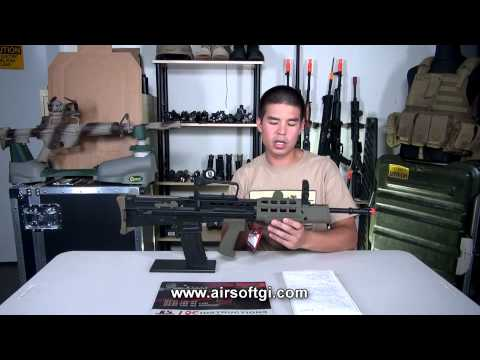 Airsoft GI - ICS Full Metal L85 AEG Review With Daniel