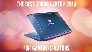 The Acer Predator Helios 300   Best $1000 Laptop of 2019 Q2