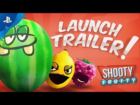 Shooty Fruity - Launch Trailer | PS VR