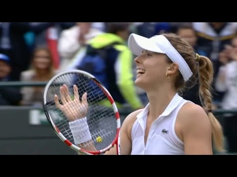 Tennis Upsets 2014 - Alizé Cornet vs Serena Williams