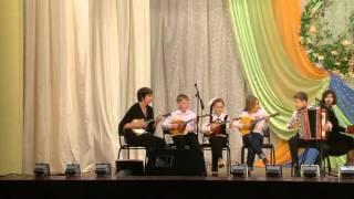 Детский ансамбль народных инструментов