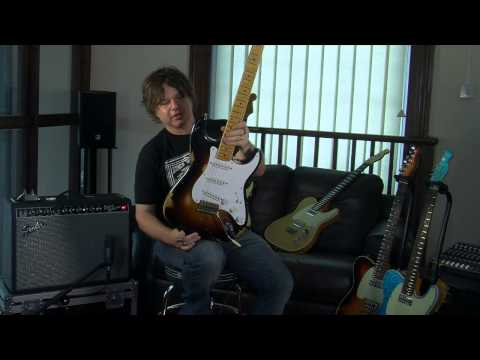 Fender Custom Shop 54 60th Anniversary Stratocaster Demo