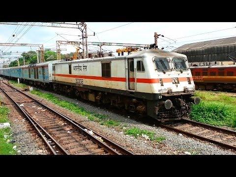 Parallel Action on Indian Railways: Bangalore Chennai Shatabdi Express Races With EMU