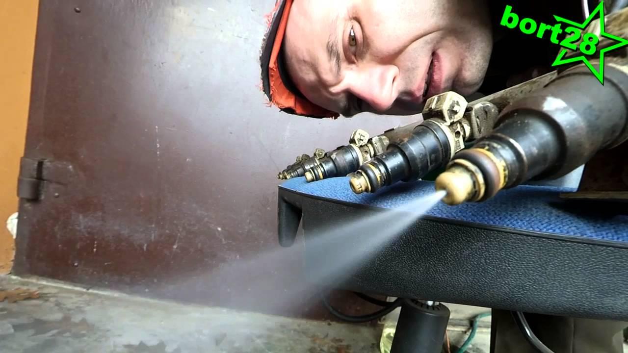 Когда промывать форсунки на дизеле в домашних условиях