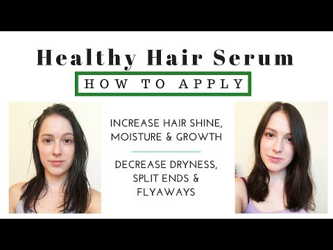 How to Effectively Apply Hair Serums