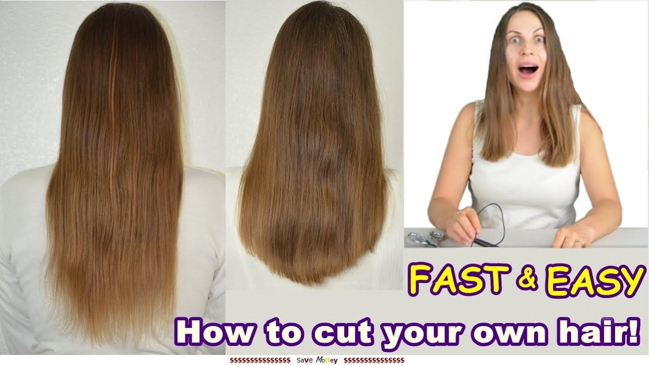 U Shaped Haircut For Medium Hair Cutting Long Hair U  V Shaped