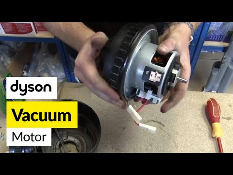 How to replace a motor on a Dyson - DC07