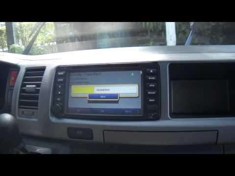 Toyota Grandia GPS