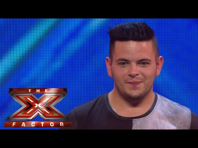Paul Akister sings Marvin Gaye's Let's Get It On | Arena Auditions Wk 1 | The X Factor UK 2014