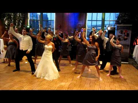 Dirty Bit Wedding Flash Mob - Black Eyed Peas - The Time (dirty Bit) video