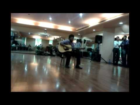 Tera Yakeen + Tum hi ho fusion  Cognizant  Live Wire 2nd round...