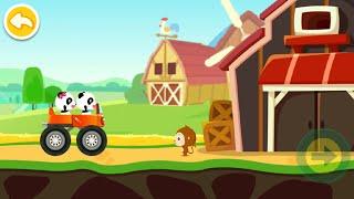 Baby Panda Car Racing Gameplay   BabyBus Kids Games #40