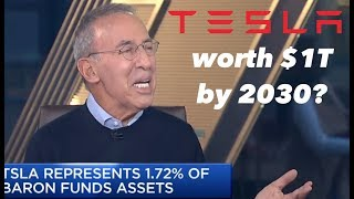 Ron Baron: Tesla Worth $1T By 2030 💫📈💸