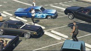 GTA 5 Online Lowrider Car Meet