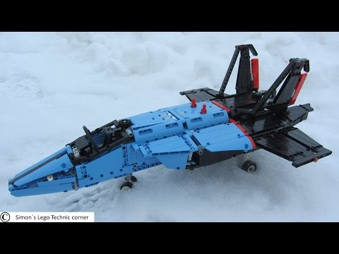 Lego Technic 42066 Air Race Jet [Review]