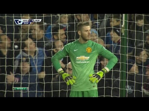 David De Gea Vs. West Ham United 14-15 [Away] [HD 720p]