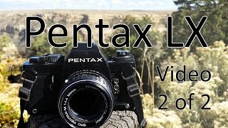 Pentax LX Video Manual 2 of 2