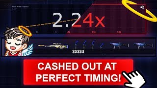 CASHED OUT AT PERFECT TIMING! CSGOMAGIC OF VGO MILLION.GG - EPISODE 82