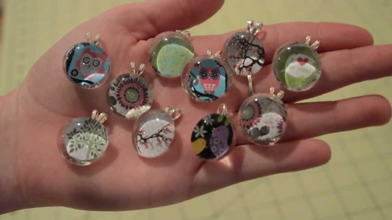 Diy Glass Pendant Necklace Glass Gem Necklace Pendant