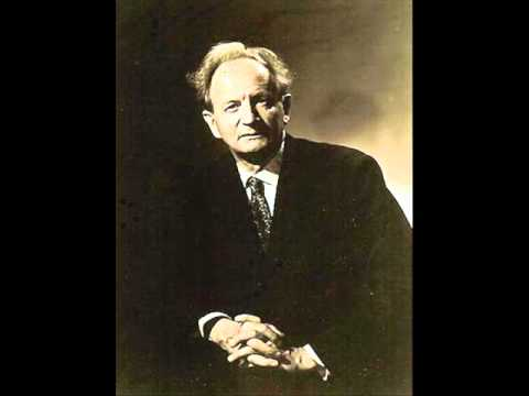W. Kempff plays Schubert Sonata in C minor, D.958