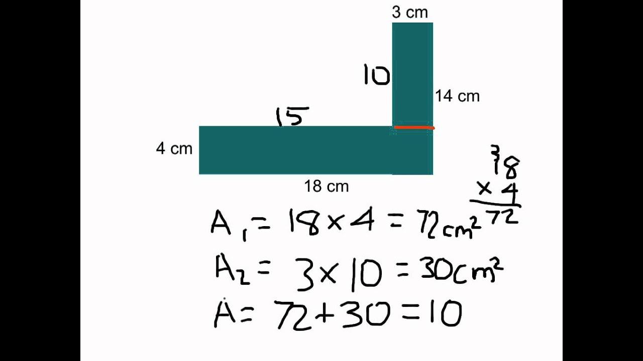Area+of+complex+figure on Area Of Composite Figures Worksheet