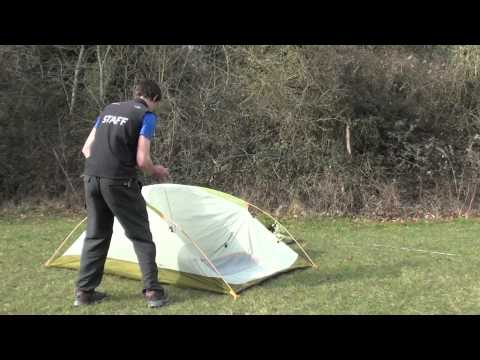 How to pitch a The North Face Big Fat Frog 2 tent