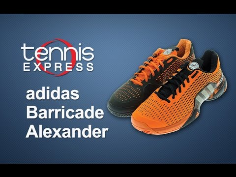 adidas Barricade Alexander the Great Shoe Review | Tennis Express