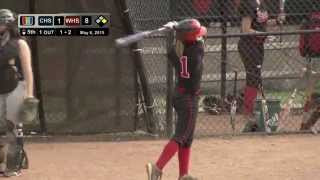 High School Softball: CHS vs WHS, May 6, 2015