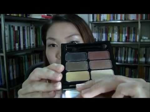 ป้าพิมรีวิว-BSC Eye, Cheek & Lips Crystallize Palettes