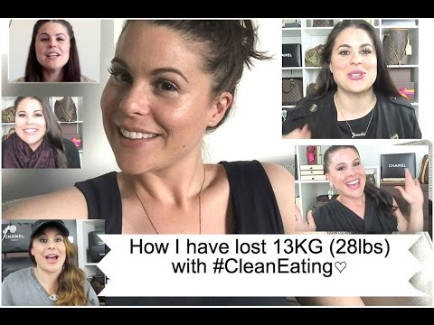 How I have lost 13KG (28lbs) with #CleanEating♡