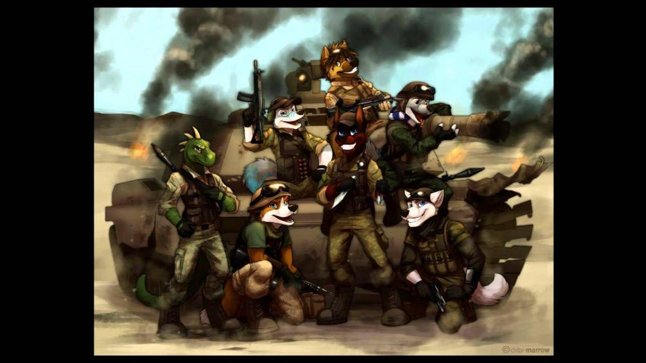 Фурри на войне 6 фотография