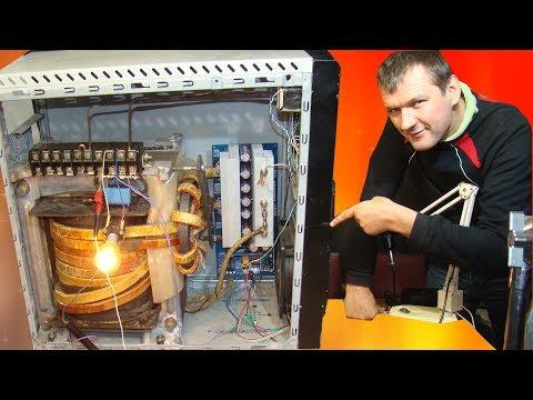 Самый мощный инвертор 5500Вт 220В 50Гц Чистый синус. Как собрать самому.