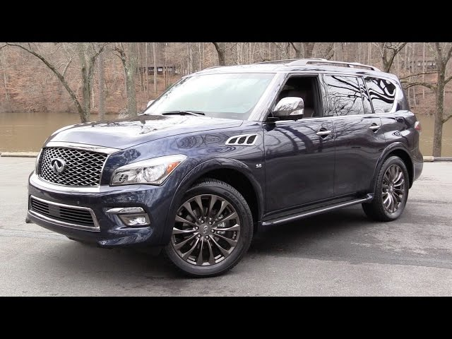2016 Infiniti QX80 Limited AWD Start Up, Road Test, and In ...