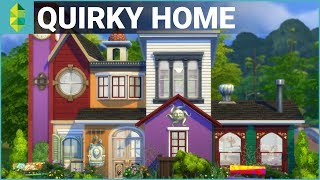 The Sims 4 House Building - Quirky Home (Parenthood)