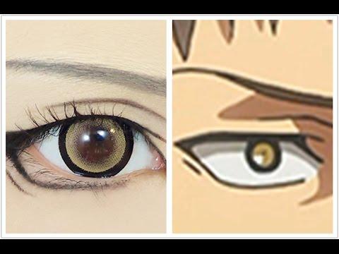 Anime Eyes Makeup Cosplay Tutorial Anime Eye Makeup 60