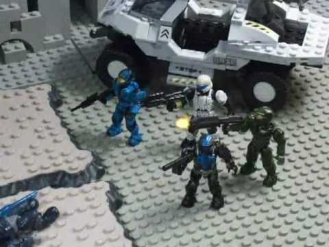 Halo Firefight Stopmotion