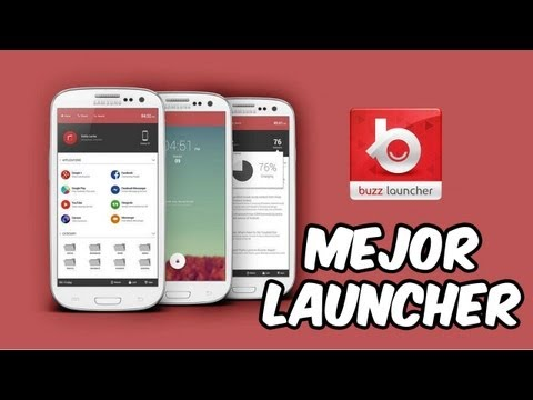 Mejor Launcher para Android [Buzz Launcher]