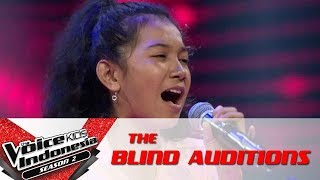 "Download Lagu Aisya ""Ku Tak Bisa"" | The Blind Auditions | The Voice Kids Indonesia Season 2 GTV 2017 Gratis STAFABAND"