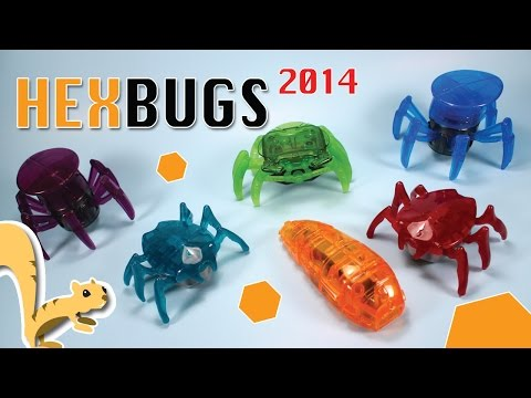 McDonald's Happy Meal HEXBUG 2014 Collection Opening Review