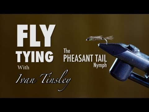 Fishing Fly Tying With Ivan Tinsley Episode 2 The Pheasant ...