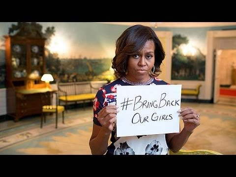 "Michelle Obama ""outraged"" over Nigeria kidnapped girls"