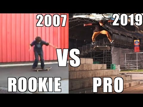 12 Years Of Skateboarding Progress | From Rookie To Proskater