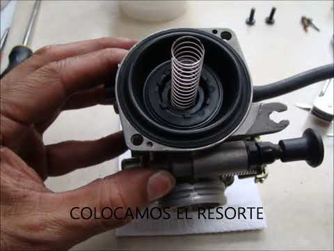 VIDEO DE LIMPIEZA DE CARBURADOR MOTO AKT XM200