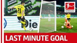 Borussia Dortmund Score Dramatic DFB Cup Win - Gündogan's 120th-Minute Goal