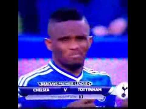 Chelsea Samuel Eto Caught Sniffing Drugs MUST WATCH!!!!!!