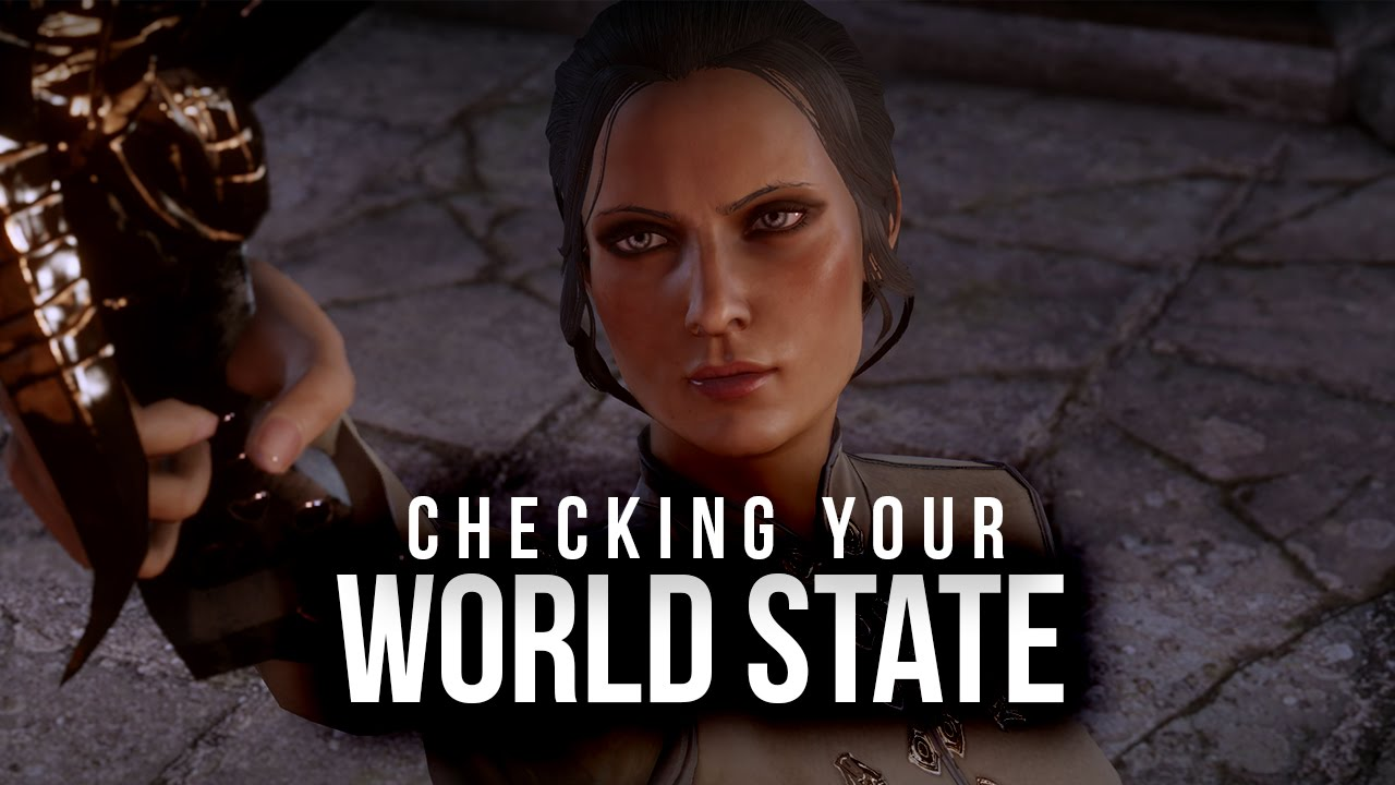 Change World State Dragon Age World State in Dragon Age