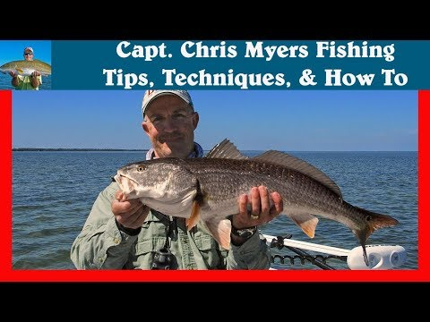 Fly Fishing for Redfish near Orlando Florida in Mosquito Lagoon
