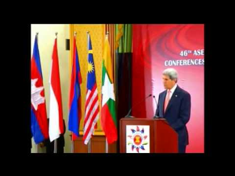 John Kerry at the July 2013 ASEAN-U.S. ministerial meeting
